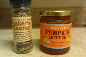 Baker's Secret & Pumpkin Butter