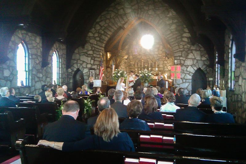 Ceremony at Holy Trinity in Greenville