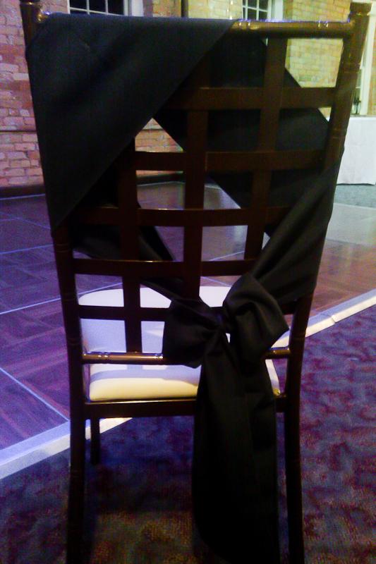 Chair Tie at Larkins