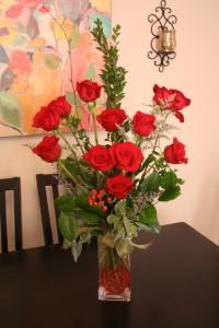 Dahlia Valentine's Red Roses