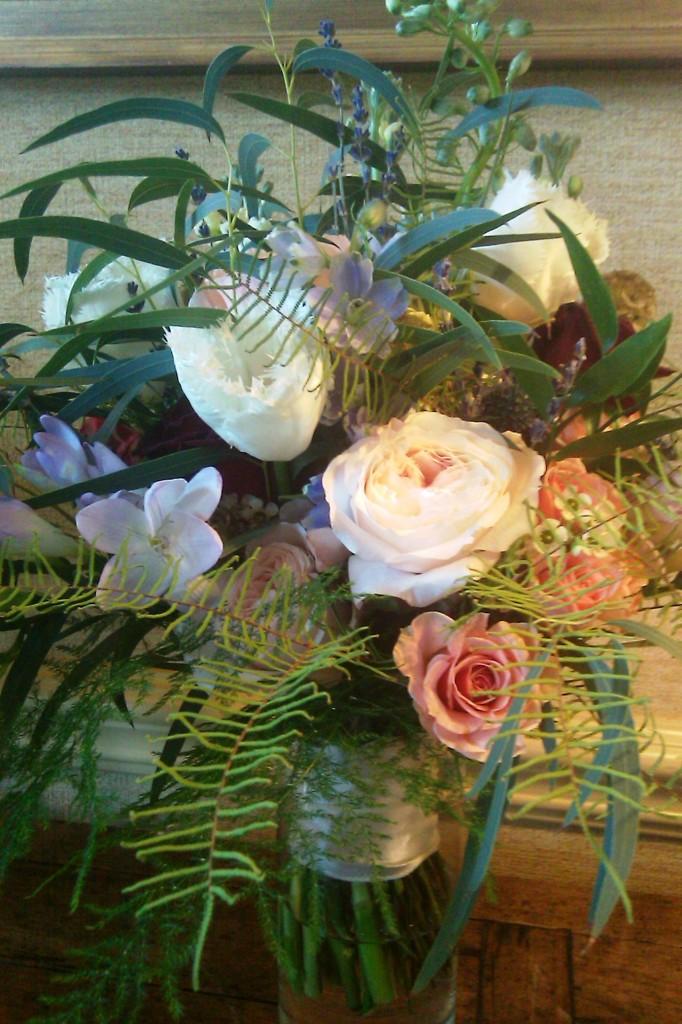 Bridal Bouquet Close Up