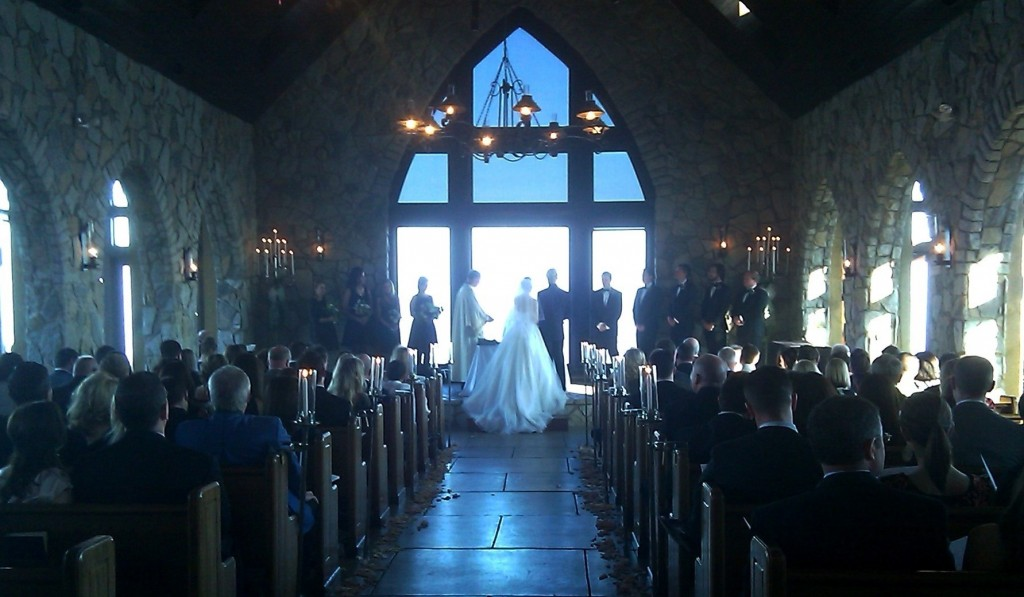 Cliffs Chapel Ceremony