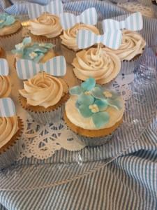 Kathy & Co Hydrangea Cupcakes