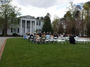 Cherrydale Alumni House Furman Wedding