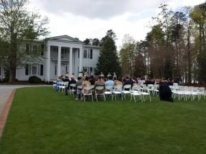 Cherrydale Alumni House Furman Wedding