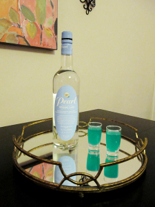 Pearl Wedding Cake Vodka - Something Blue