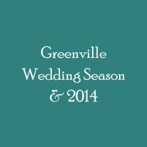 Greenville Wedding Season